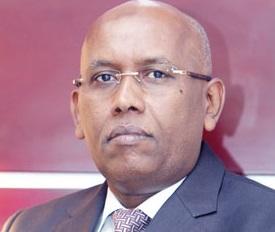 Minsiter of Finance, Ilyas Moussa Dawaleh