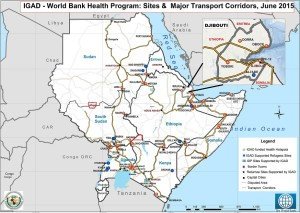 IGAD Transport_Corridors